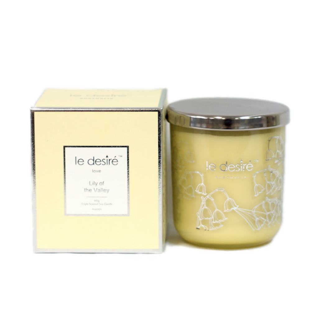Love Soy Candle - Lily of the Valley
