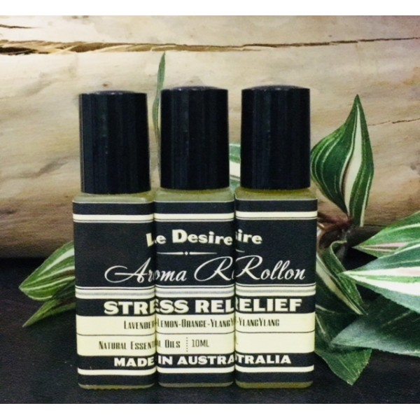 10ml Aromatherapy Roll-On - Stress Relief